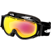 Bolle Scream Goggles - White Frame, Fire Red Lens 20133