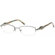 Exces Eyeglasses 3070 with No-Line Progressive Rx Prescription Lenses