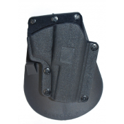 Houston Holsters Paddle Holsters For Browning Hi-Power Black Right Hand RP37