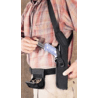 Uncle Mike's Holster for Large/Medium Barrel Revolvers - 6, 7, 7.5, 8.5in