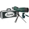 Alpen 18-36x60 Water Proof Spotting Scope, Tripod Car Window Mount, Travel Case 735KIT
