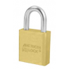 American Lock A20 Solid Brass Non-Rekeyable Padlock