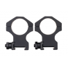Barrett Zero-Gap Scope Rings Medium 1.1 Inch 30mm Matte 13322B