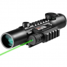 Barska 4x28 IR Electro Sight / GLX Green Laser Sight Combo Pack