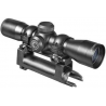 Barska 4x32 Contour Matte Black 30/30 Reticle Riflescope w/ SKS Mount + Rings AC10882