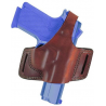 Bianchi 5 Black Widow Holster - Plain Tan, Left Hand 12844