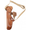 Bianchi X15 Shoulder Holster - Plain Tan, Left Hand 22209