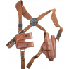 Bianchi X16 Agent X Shoulder System (Unlined) - Plain Tan, Right Hand 17252
