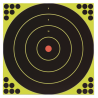 Birchwood Casey Shoot-N-C Targets 12 Inch Round Bullseye 12 Targets 288 Pasters 34022