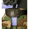 BlackHawk Ambidextrous Flat Belt Holster Black 40FB02BK