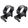 Burris 1 inch Quick Detach Solid Steel Riflescope Rings ( fits Weaver - Style Bases )