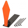 Champion Traps and Targets Metal Pop-Up Target Diamond Shape