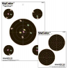 Champion Target Champion 5-inch Visicolor Paper Double Bulls Eye Target 10 Pack 45826