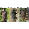 Champion Traps and Targets VisiColor Real Life Targets Pigman Variety Pack 12x18 Inches 45849