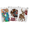 Champion Traps and Targets Zombie Visicolor Cartoon Variety 6 Pack 12x18 Target