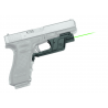 Crimson Trace Laserguard Green Laser Sight Fits Glock 17, 19, 22, 23, 34, 35
