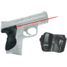 Crimson Trace Lasergrip, Black - M&P Compact
