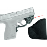 Crimson Trace Laserguard Red Laser Sight for S&W Shield Handgun