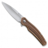 CRKT Ripple 2 Stainless Steel EDC Folding Knife, 2.78in Blade