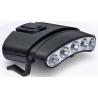 Cyclops Orion Tilt 5 LED Hat Clip Light w Black Shell White-Green LED Light Head
