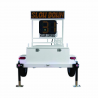Decatur OnSite 400 Speed Radar Display Trailer w/ LED Message Board, MPH or KPH