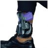 DeSantis Left Hand Black Leather Ankle Holster 044BBE1Z0 - Fits Glock 26, 27, 33