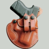 DeSantis Left Hand Tan Cozy Partner Holster 028TBD6Z0 - KAHR 9MM/40CAL, MK40