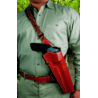 DeSantis Right Hand Tan The Terminator Holster 040TC06Z0 - S&W 500 4in.