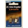 Dorcy 2C / 2AA Krypton Bulb ( KPR104 ) - 2 Per Card 41-1662