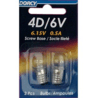 Dorcy 6V/4D- 6.15V 0.5A Screw Base Bulb - 2 Pk 41-1655