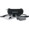 ESS Crossbow 2X Eyeshields - Two Pairs Crossbow Frames Clear/Smoke Lenses