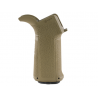 MFT Engage AR15/M16 Pistol Grip with 3 sets of interchangeable front and back straps - Black - EPGI16