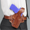 Galco Fletch High Ride Belt Holster Fits Glock 17