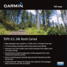 Garmin TOPO U.S. 24K GPS Maps, North Central or South Central DVD