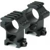 Hawke Sport Optics 2pc 1in Weaver Rings