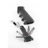 Hogue AR-15/M-16 Rubber Gun Grip Black with Samson Field Survivor Kit 15012