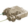 Laser Devices DBAL-I2 Dual Beam Laser, Eye Safe Infrared Laser and Visible Red Laser