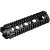 Leapers UTG Model 4/15 Mid Rifle Length Quad Rail System - Black MTU007
