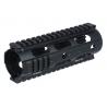 Leapers UTG Pro Model 4/15 Carbine Length Symmetrical Split Slim-Rail System