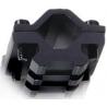 Leapers UTG Universal Single-Rail Barrel Mount - 2 Picatinny Slots, Fits Barrel Diameter 13mm-20mm MNT-BR002S