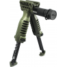Mako Group Vertical Foregrip & Bipod w/ Integral Mount for Flashlight