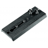 Manfrotto Bogen Rapid Connect Sliding Plate W/2-1/4in-20 and 3/8inFixing Screws 357PLV