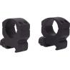 Millett 1in. Tactical Riflescope Rings w/ 4 Cap Clamp Screws