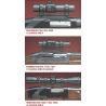 Millett Shotgun Mount Accessories - See-Thru Saddle Mounts, Scope Rings