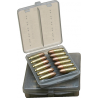 MTM Ammo Wallet .38/.357 12 Cartridge Smoke W12B-38-41