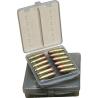 MTM Ammo Wallet .44 Remington Magnum 12 Cartridge Smoke W12B-44-41