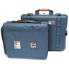 PortaBrace PB-2600IC Superlite Watertight Hard Case with Soft Internal Case and Divider Kit 14x11x6 int. (Blue)