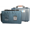 Porta-Brace PB-2500IC Superlite Waterproof Hard Case with Soft Removable Inner Case and Divider Kit 13x9x6 int. (Blue)