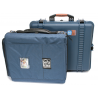 PortaBrace PB-2700IC Superlite Waterproof Hard Case with Soft Interior Case and Divider Kit 17x14x6 (Blue)