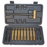 Pro Mag 15 Piece Hammer And Punch Set In Plastic Storage Case PM058